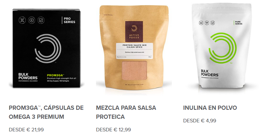 Bulk Powders rebajas