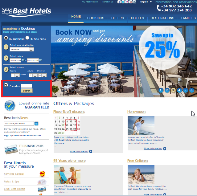 Descuento Cupon Descuento Best Hotels