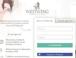 Cupón descuento Westwing 2018