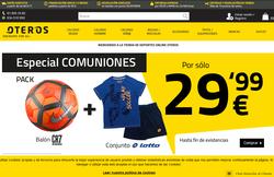 Código Promocional Oteros 2018