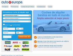 Código Decuento AutoEurope 2018