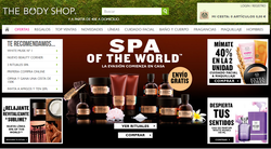 Código Promocional The Body Shop 2018