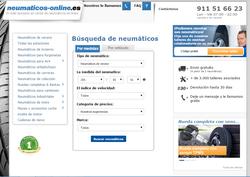 Cupón descuento Neumaticos-online.es 2018