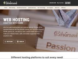 Código Promocional SiteGround 2018