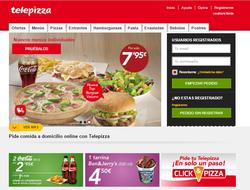 Código Promocional Telepizza 2018